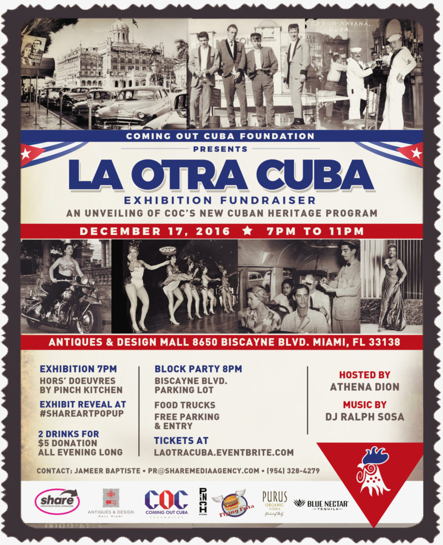 """La Otra Cuba"" – Art Exhibition & Block Party"