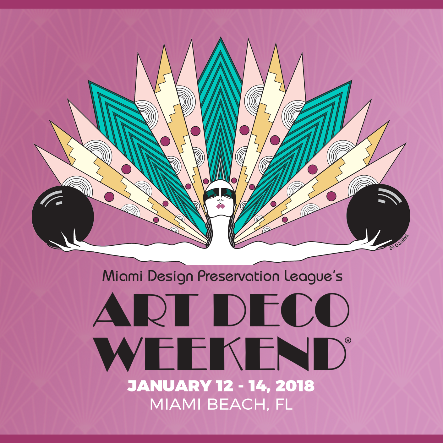 Cake Art Festival 2018 : Art Deco Weekend 2018 Share Media Agency Miami