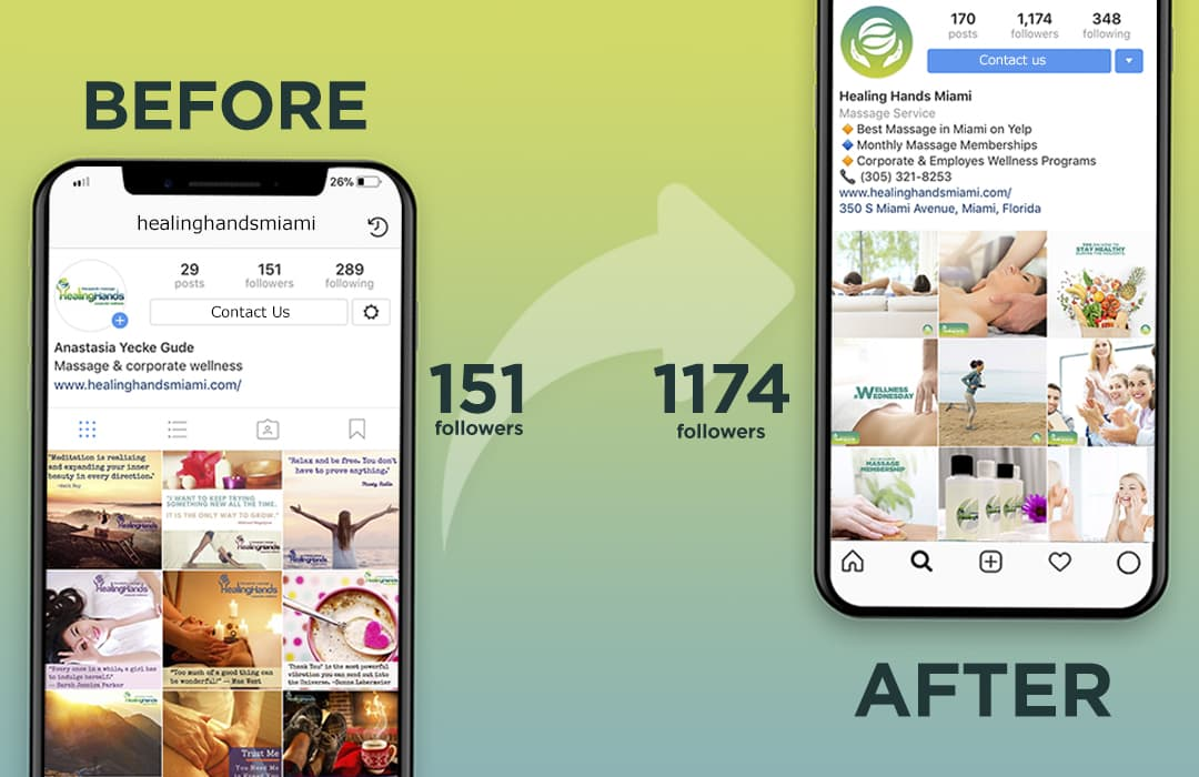 instagram healing hands massage therapy wellness relax miami dade
