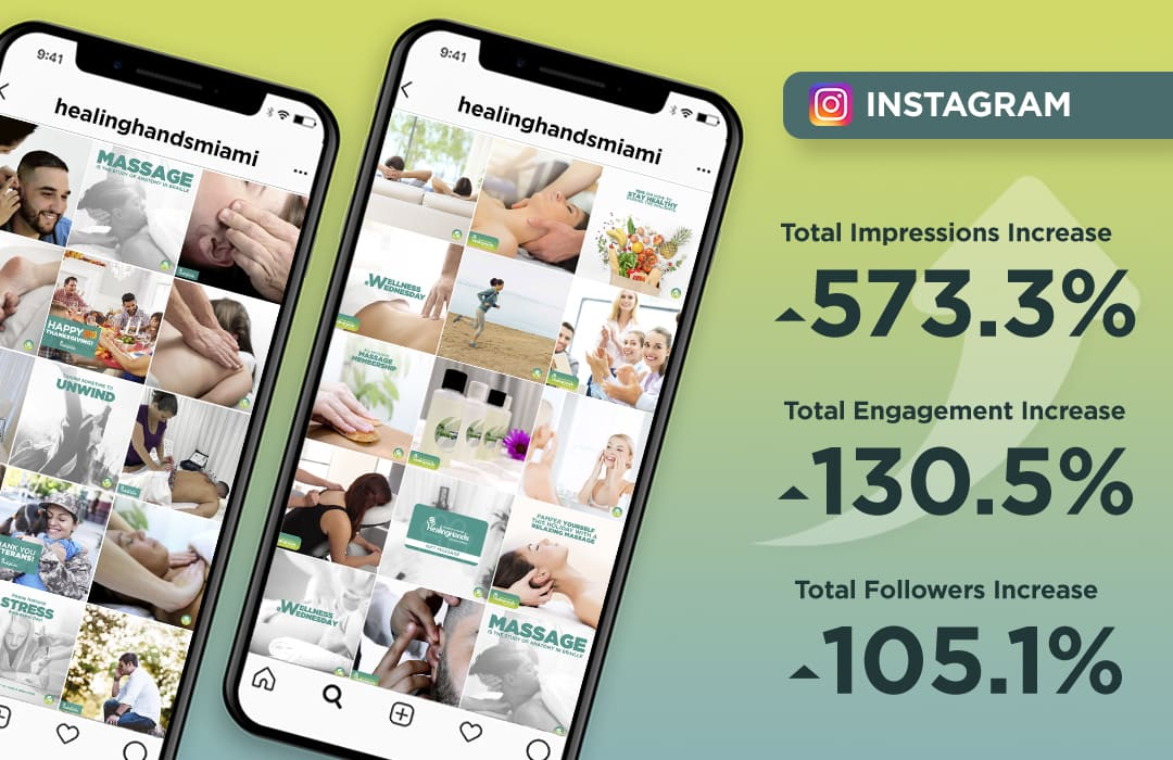 instagram healing hands massage therapy miami
